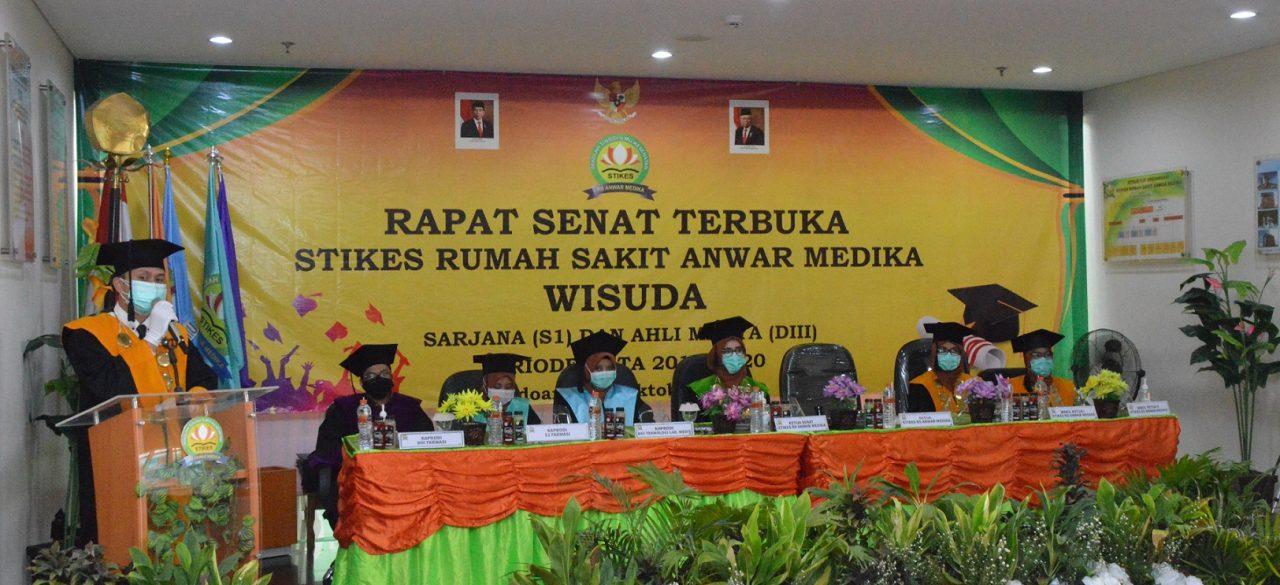 Wisuda Periode III TA 2019/2020 STIKES RS Anwar Medika